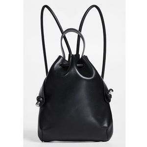 Meli Melo Briony Leather Nappa Black Mini Backpack